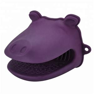 Hippos shape Silicone Oven Gloves Cooking Gloves-HY-SG-09