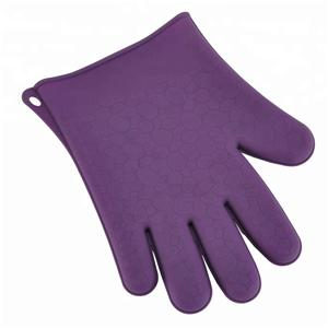 Silicone BBQ Grill Baking Gloves Heat Resistant Glove-HY-SG-07