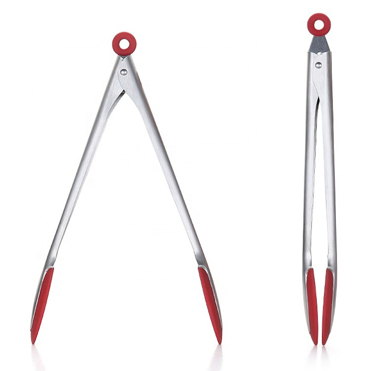 Stainless Steel Silicone Grill Cooking Food Tongs -HY-KC-14 Manufacturers, Stainless Steel Silicone Grill Cooking Food Tongs -HY-KC-14 Factory, Supply Stainless Steel Silicone Grill Cooking Food Tongs -HY-KC-14