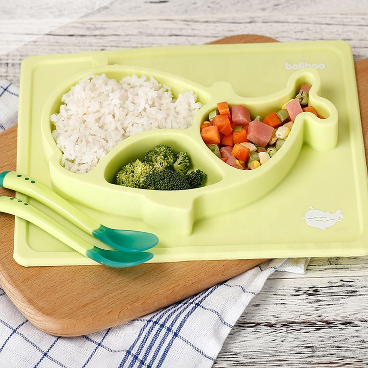 Silicone Healthy Baby Happy Bowl Mat-HY-BM-01