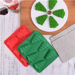 FDA Christmas Tree Cake Mould Silicone Baking Mold-44