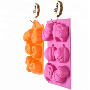 Halloween Ghost Wholesale 3D Baking Silicone Cake Molds HY-MD-45