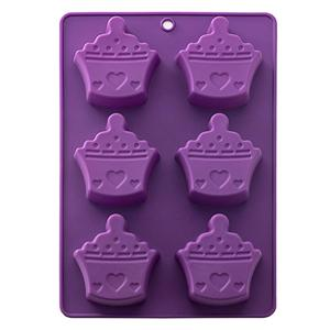 Amazon Hot Sales 3d Silicon Ice Cream Cake Mold -HY-MD-47