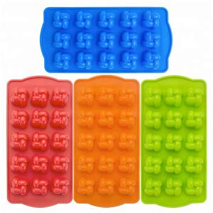 Valentine's Day Flower Shape DIY 3D Candy Mould Silicone Chocolate Mold-HY-MD-50