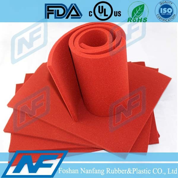 Mat Surface Silicone Sponge Sheet