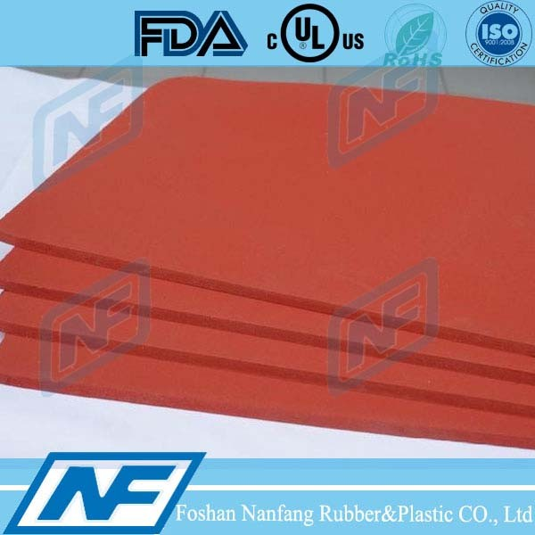 Closed Cell Silicone Sponge Sheet