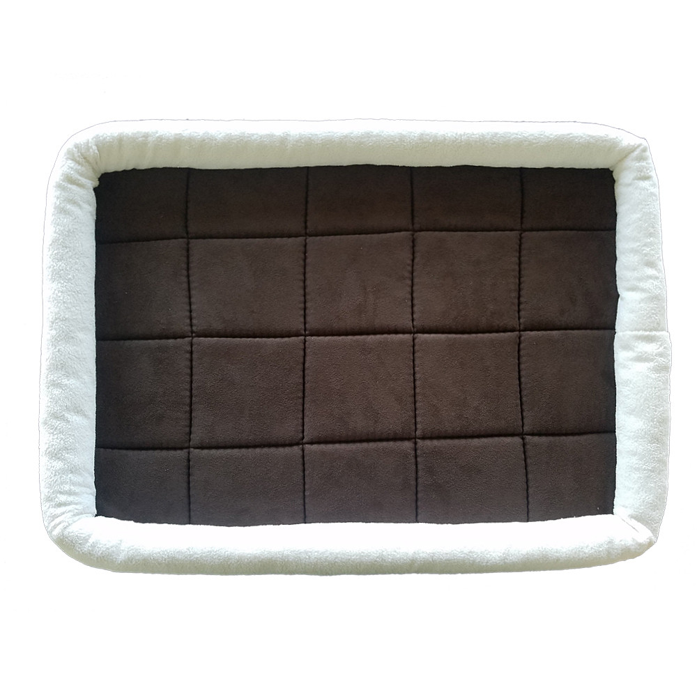 Pet Bed For Crates Padded Pet Bolster Bed
