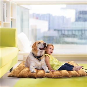 개와 고양이를위한 디럭스 정형 외과 애완 동물 침대 매트리스