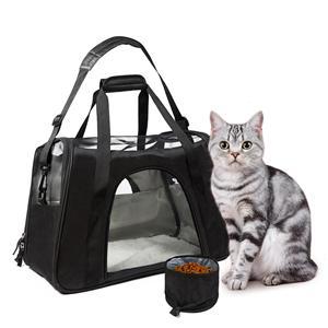항공사 승인 애완 동물 여행 가방 애완 동물 슬링 캐리어