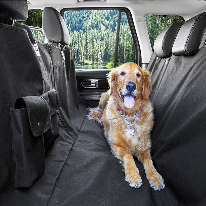 Waterproof Dog Backseat Cover Dog Car Seat Cover