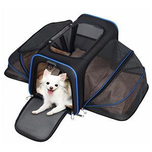 확장 가능한 애완 동물 운송 업체 항공사가 개 도크를 승인했습니다.