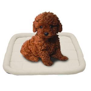 개와 고양이를위한 디럭스 볼스터 애완 동물 침대