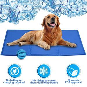 압력 활성화 애완 동물 냉각 젤 패드