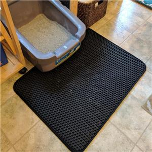 Lightweight WaterProof litter box mat Cat Litter Trapper Mat