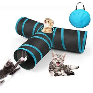 Cat Toy Tunnel Foldable Cat tunnel Cat Play Tunnel