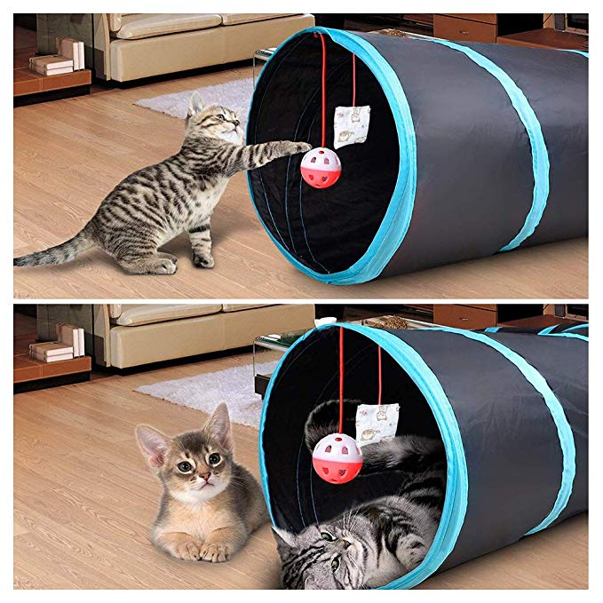 Cat Play Tunnel