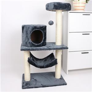 제조 업체의 도매 sisal 고양이 나무 작은 애완 동물 고양이 나무 고양이 scratcher 나무