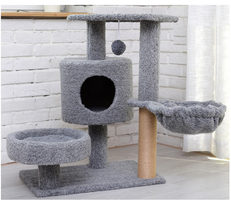 Manufacturer wholesale Cat Activity Tree with Scratching Posts Cat Tree Tower Furniture