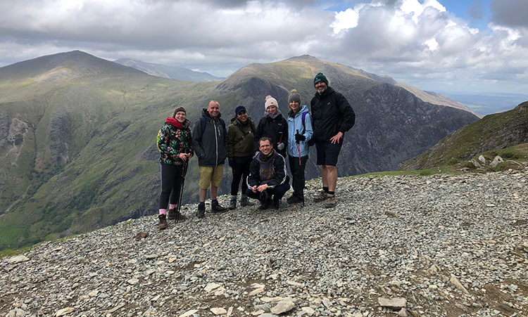 Laughing Dog completes Three Peak Challenge