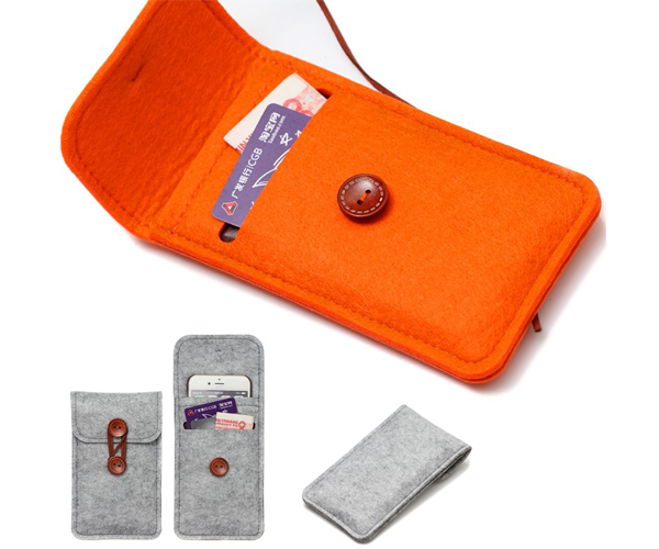 Felt Mobile Phone Bag