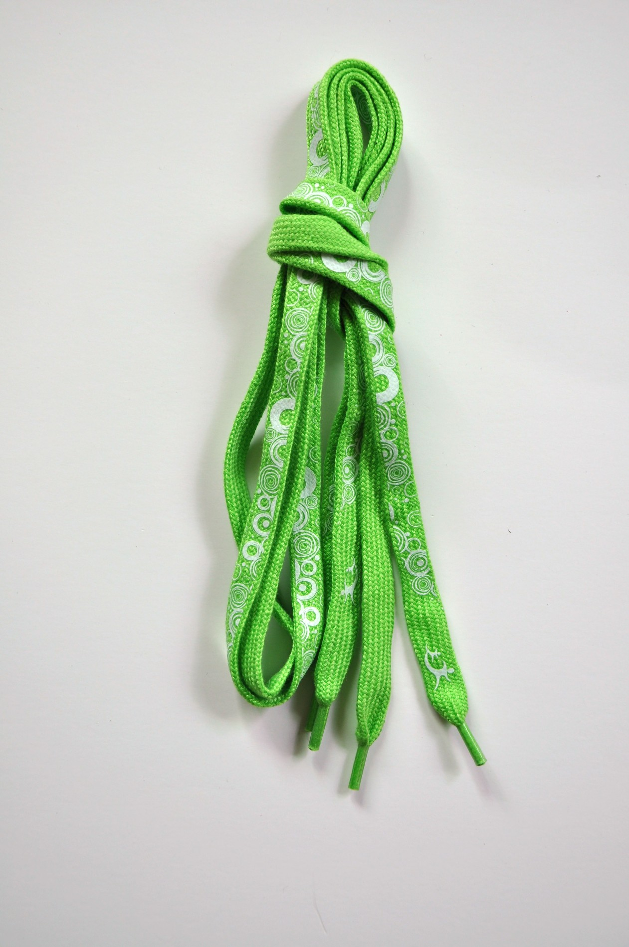 New style polyester shoelaces