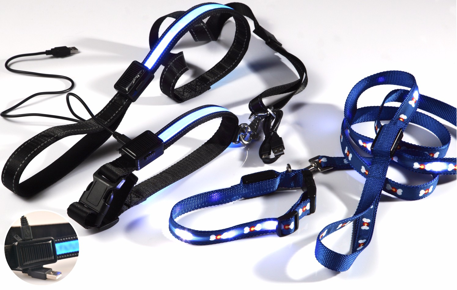 Wholesale Fashion LED Dog Leashes