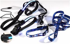 Wholesale Fashion LED Dog Leashes