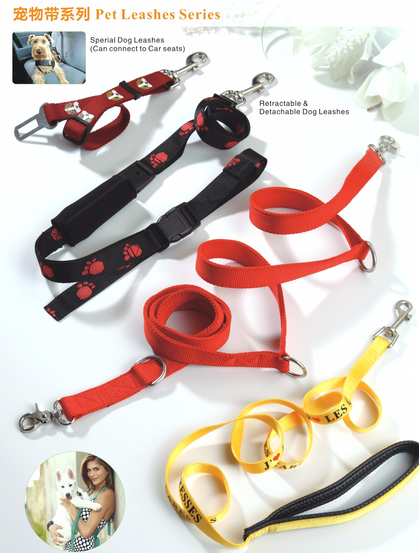 New fashion customized wholesale dog leashes