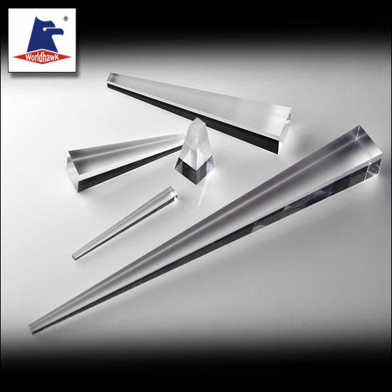 Tapered Light Pipe Homogenizing Rods