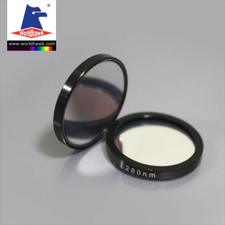 Manufacturer Optical Glass 349nm 350nm 365nm Camera UV Filter narrow bandpass filter