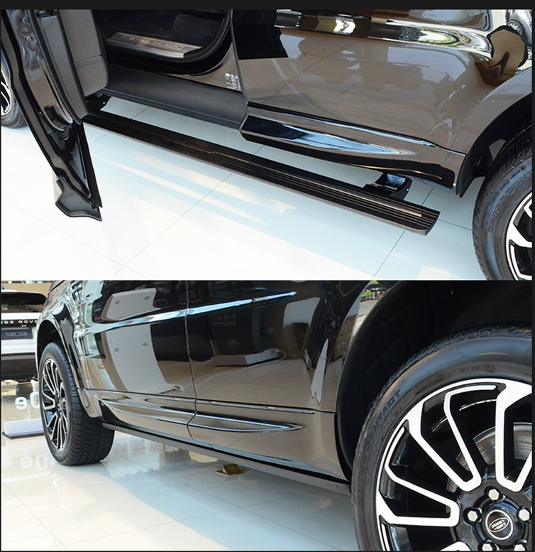 aftermarket retractable running boards