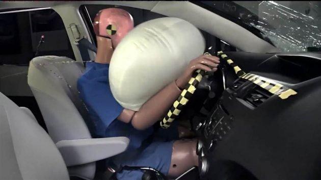 Porsche air bag