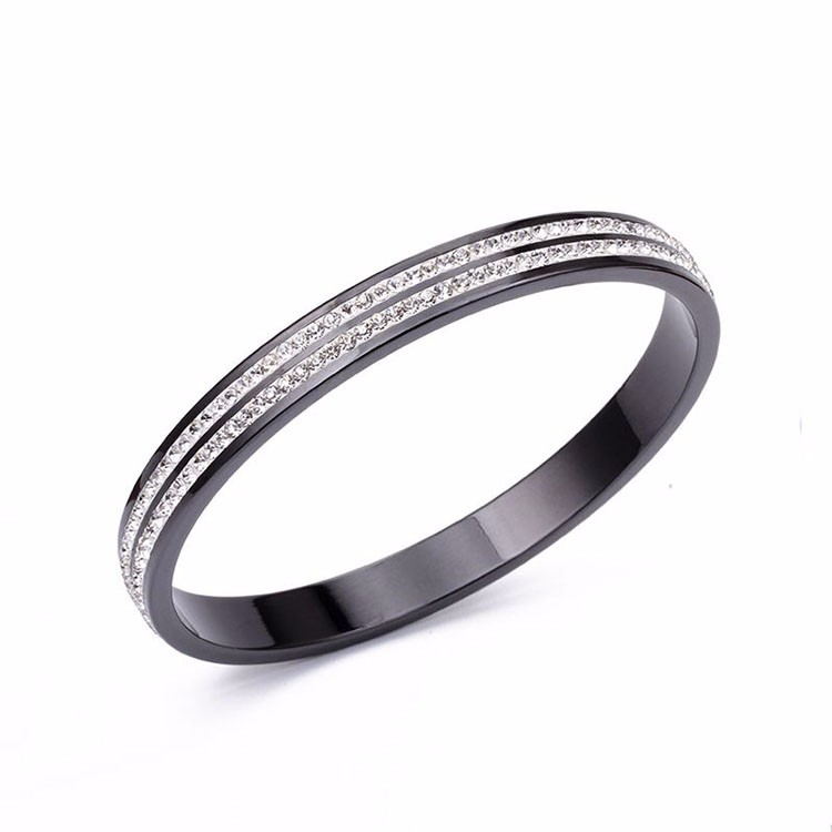 Faceted ceramic bracelet