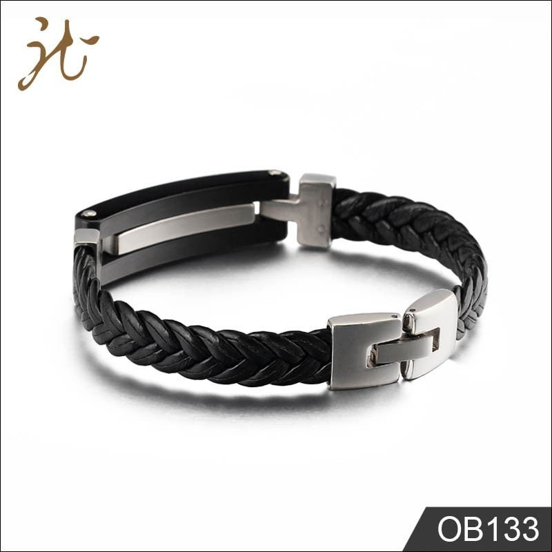 Leather weaving cable bracelet Manufacturers, Leather weaving cable bracelet Factory, Leather weaving cable bracelet