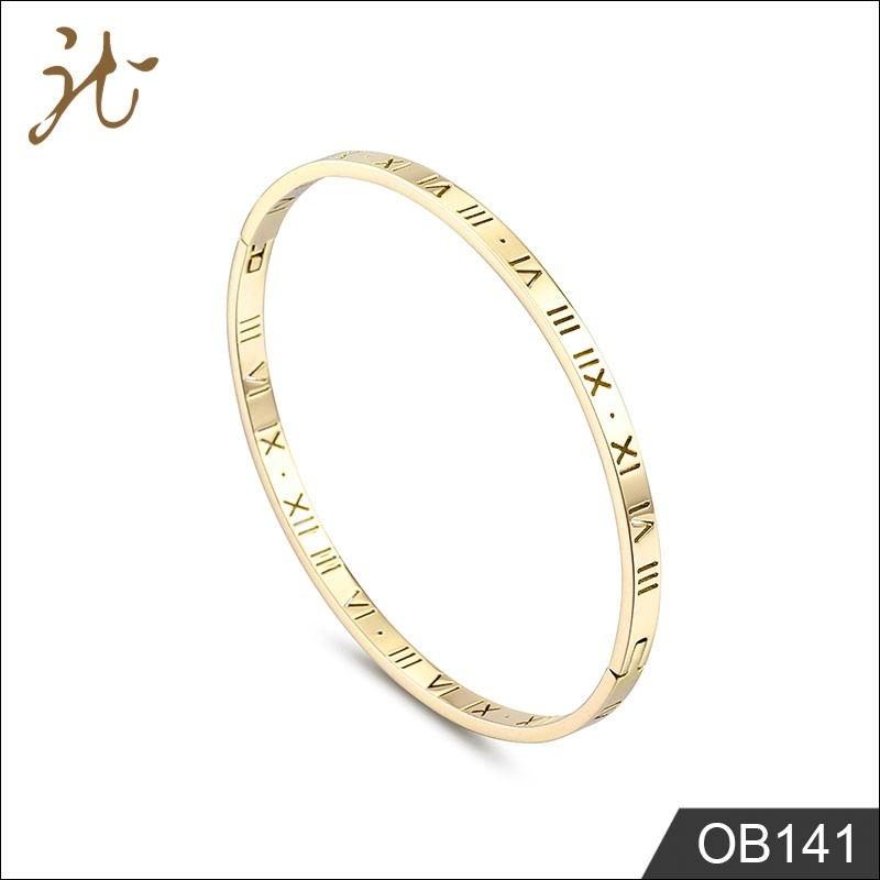 Gold pattern bracelets