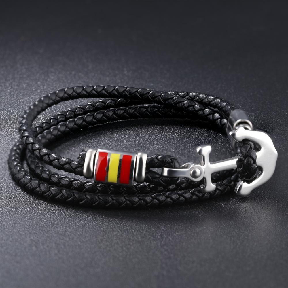 Multilayer leather bracelet Manufacturers, Multilayer leather bracelet Factory, Multilayer leather bracelet