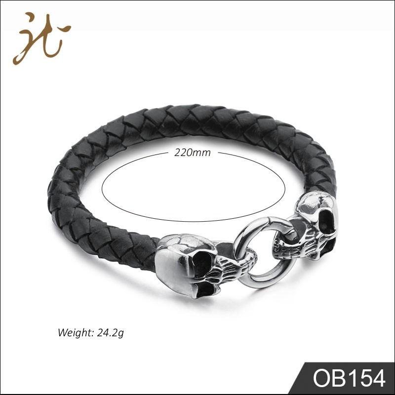 Men skull bracelet Manufacturers, Men skull bracelet Factory, Men skull bracelet