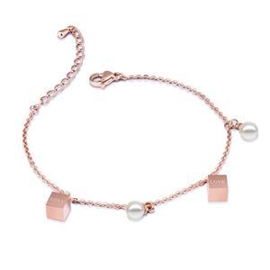 Chain circle bracelets