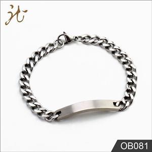 Link chain design bracelets