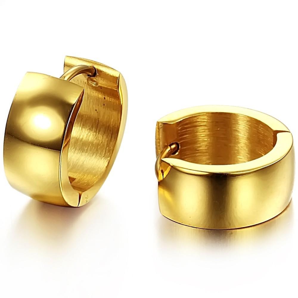 Earrings gold jewelry