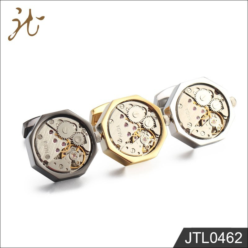 Movement watch cufflinks