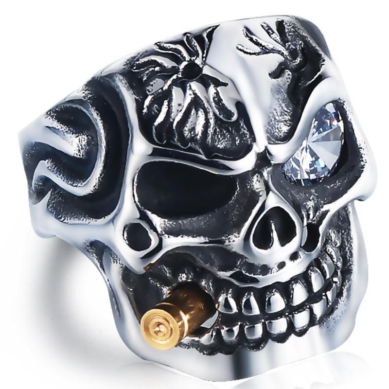 Men's skull rings