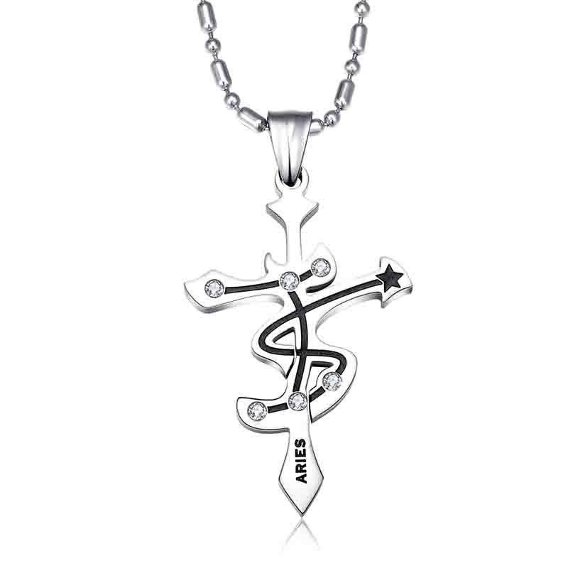 Jesus cross pendant