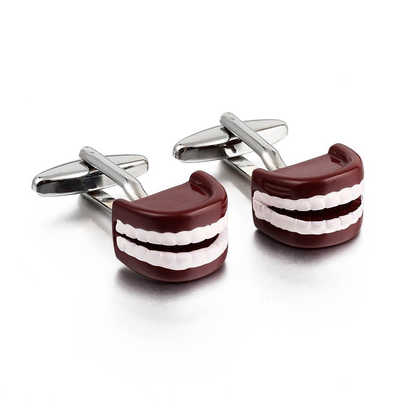 Mens gift shirt cuff links