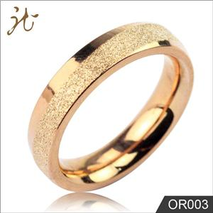 Gold color rings for women