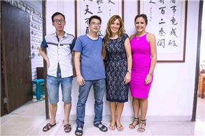 Obit company visited our company