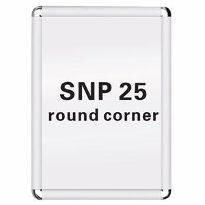 Round Corner Snap Frame