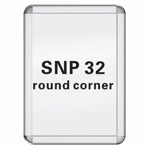 32mm Round Corner Snap Frame