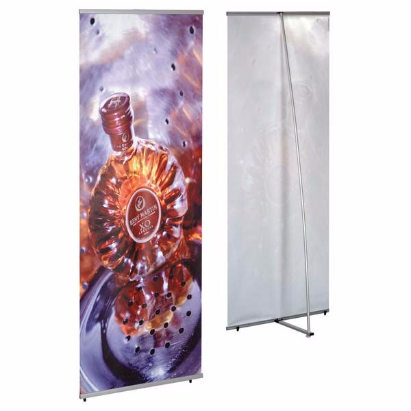L Shape Banner Stands