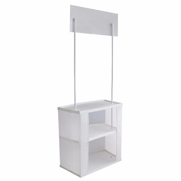 Portable Pop Up Counter, Activity Placard Table, Mall Poster Counter